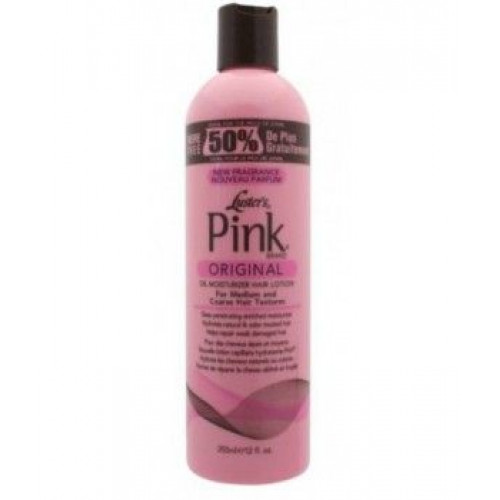 Pink - Oil Moisturizer Hair Lotion (12oz)