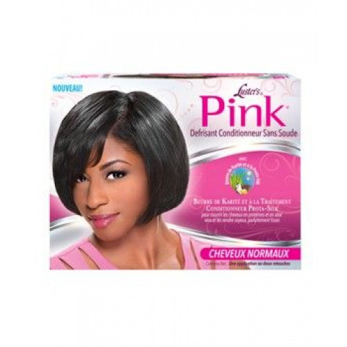 Pink - Conditioning No Lye Relaxer Kit Regular
