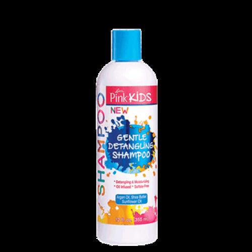 Pink - Kids Gentle Detangling Shampoo (12oz)