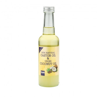 Yari - 100% Natural Castor & Virgin Coconut Oil (250ml)