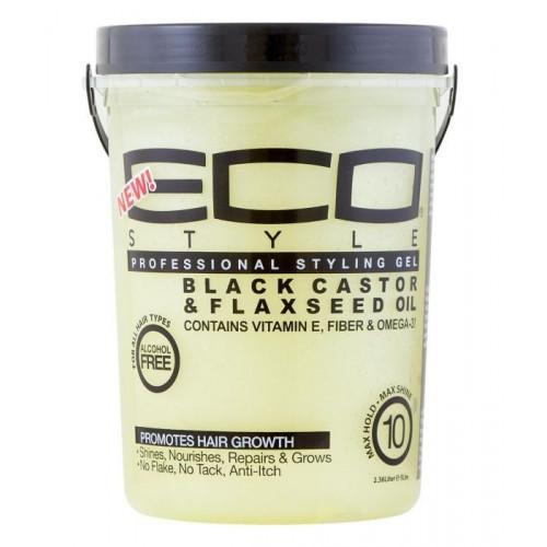Eco Styler - Black Castor & Flaxseed Oil Styling Gel (5lbs)