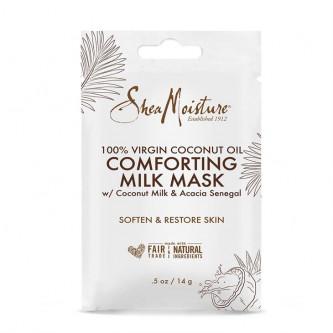 Shea Moisture - (SACHET) 100% Virgin Coconut Oil Comforting Milk Mask 0.5oz