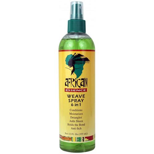 African Essence - Weave Spray 6 in 1 (12oz)