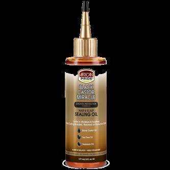 African Pride - Black Castor Miracle Hair & Scalp Sealing Oil (6oz)