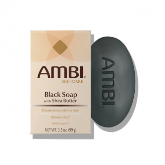 AMBI -  Black Soap Bar with Shea Butter 3.5oz