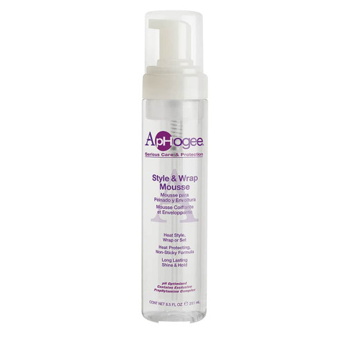 ApHogee - Style & Wrap Mousse (8.5oz)