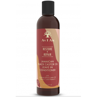 As I Am - Jamaican Black Castor Oil Leave In Conditioner (8oz)