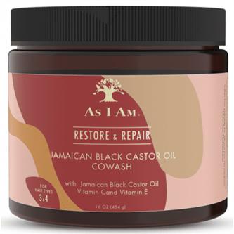 As I Am - Jamaican Black Castor Oil CoWash (16oz)