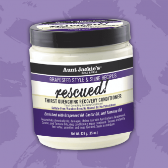 Aunt Jackie's - Rescued Thirst Quenching Recovery Conditioner (15oz)