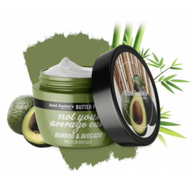 Aunt Jackie's - Butter Fusions Not Your Average Curl Masque 227g