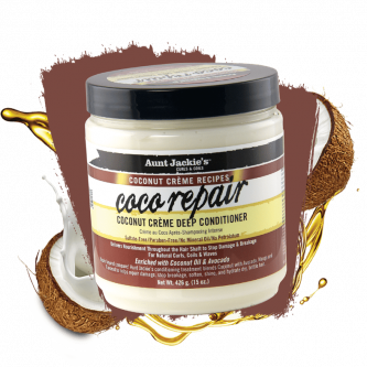 Aunt Jackie's - Coco Repair Coconut Creme Deep Conditioner (15oz)