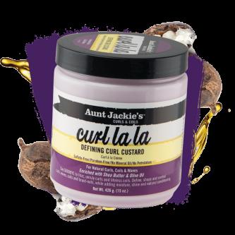 Aunt Jackie's - Curl La La Defining Curl Custard (15oz)