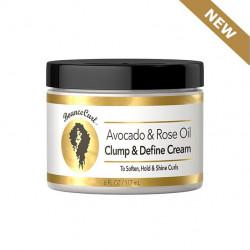 Bounce Curl - Avocado & Rose Oil Clump and Define Cream (6oz)