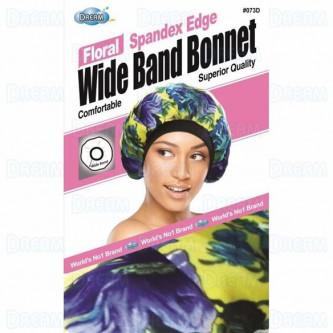 Dream WOMENS SATIN WIDE BAND BONNET DESIGN