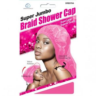 Dream Super Jumbo Braid Shower Cap Assorted
