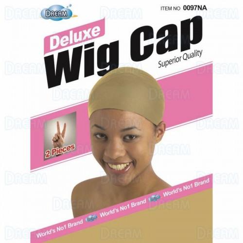 Dream Deluxe Wig Cap Natural (2Pcs)