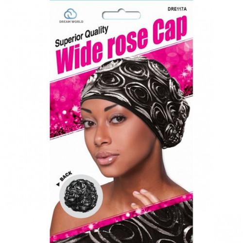Dream Wide Rose Pattern Cap