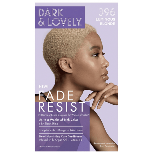 Dark and Lovely - Permanent Hair Color Luminous Blonde 396