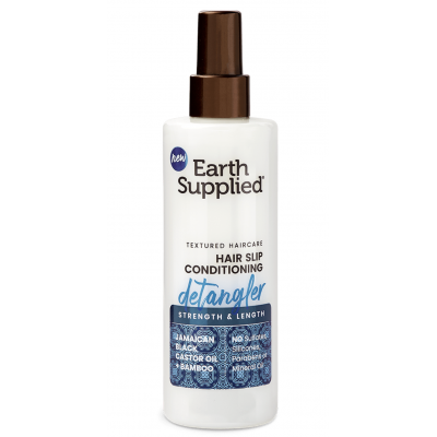 Earth Supplied - Strength & Length Hair Slip Conditioning Detangler 8oz