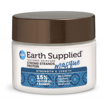 Earth Supplied - Strength & Length Strong Strands Protein Masque 12oz