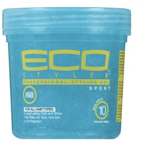 Eco Styler - Aqua Blue Styling Gel Sport Blue (16oz)