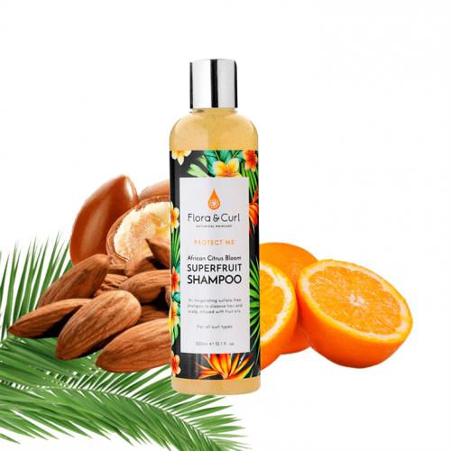 Flora & Curl - African Citrus Superfruit Shampoo (10.1oz)