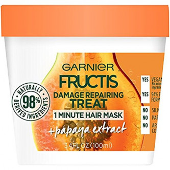 Garnier - Fructis Papaya Hair Food Mask For Damage Hair (13oz)