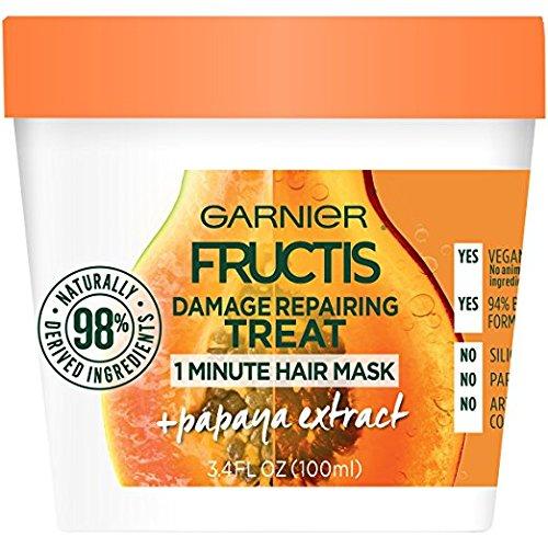 Garnier - Fructis Papaya Hair Food Mask For Damage Hair (13oz)