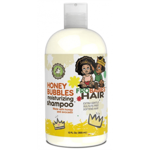 Frobabies Hair - Honey Bubbles Moisturizing Shampoo (12oz)