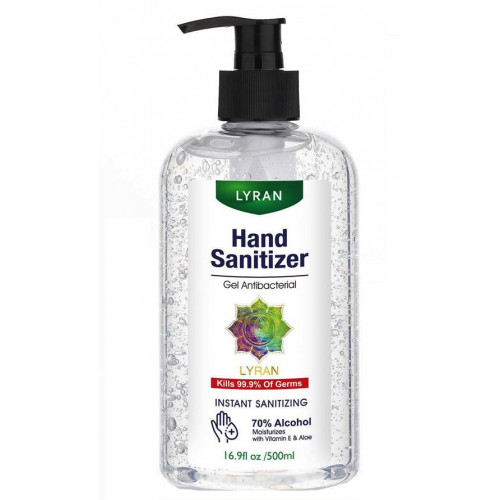 Lyran - Hand Sanitizer 500ml (70% Alcohol)