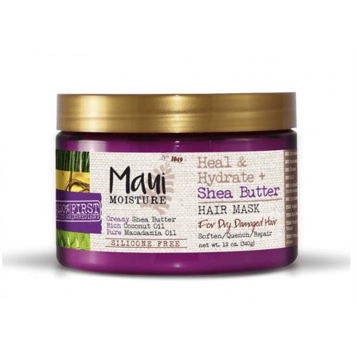 Maui Moisture - Heal & Hydrate Shea Butter Hair Mask (12oz)