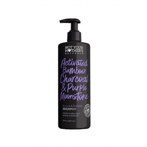 Not Your Mother's - Activated Bamboo Charcoal & Purple Moonstone Restore & Reclaim Shampoo (16oz)