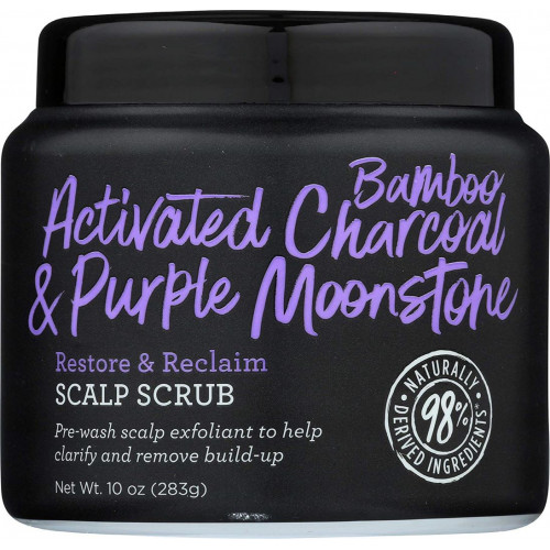 Not Your Mother's - Activated Bamboo Charcoal & Purple Moonstone Restore & Reclaim Scalp Scrub (10oz)