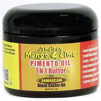 Jamaican Mango & Lime - Black Castor Oil Pimento 7N1 Butter 177 ml