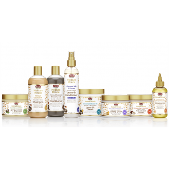 African Pride - Moisture Miracle Collection Set (8Pcs)