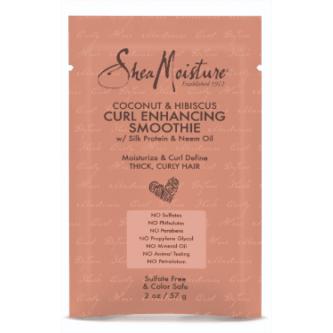 Shea Moisture - (SACHET) Coconut & Hibiscus Curl Enchancing SMOOTHIE (2oz)