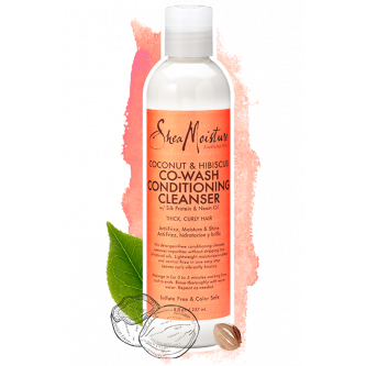 Shea Moisture - Coconut & Hibiscus Co-Wash Conditioning Cleanser (8oz)