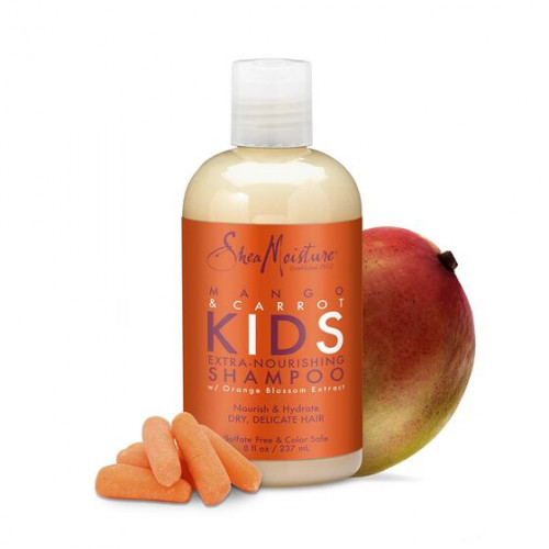 Shea Moisture - Mango & Carrot Extra-Nourishing Shampoo (8oz)