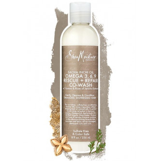 Shea Moisture - Sacha Inchi Omega-3-6-9 Rescue & Repair Co-Wash (8oz)