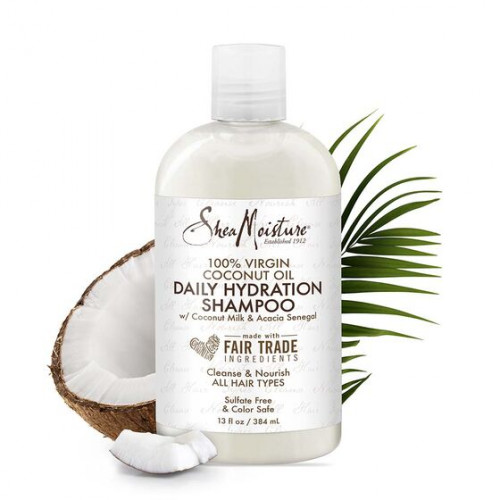 Shea Moisture - 100% Virgin Coconut Oil Daily Hydration Shampoo (13oz)