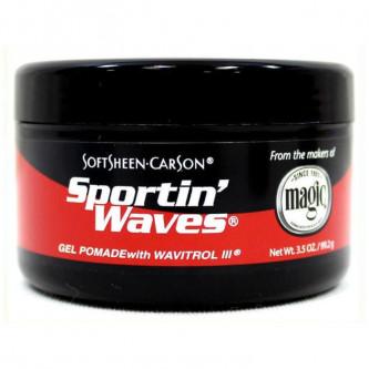 SoftSheen Carson - Sportin Waves Gel Pomade (3.5oz)