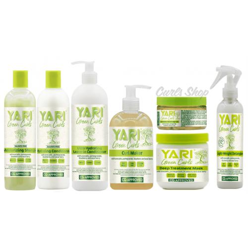 Yari Green Curls - Set (7 Pieces)