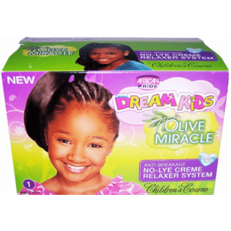 African Pride - Dream Kids Olive Miracle Relaxer Kit Super/Coarse