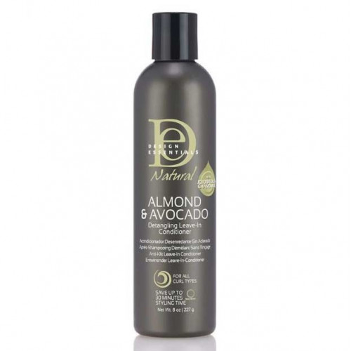 Design Essentials - Natural Almond & Avocado Detangling Leave In Conditioner (8oz)