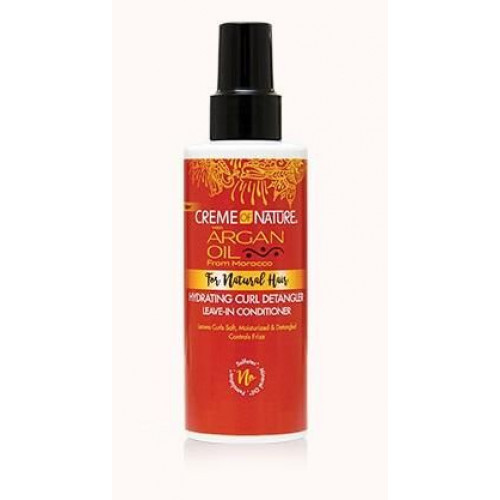 Creme of Nature - Argan Oil Hydrating Curl Detangler Leave-In Conditioner (4.23oz)