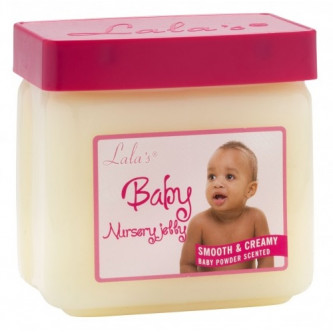 Lala's - Baby Nursery Jelly Smooth & Creamy Baby Powder Scent (13oz)