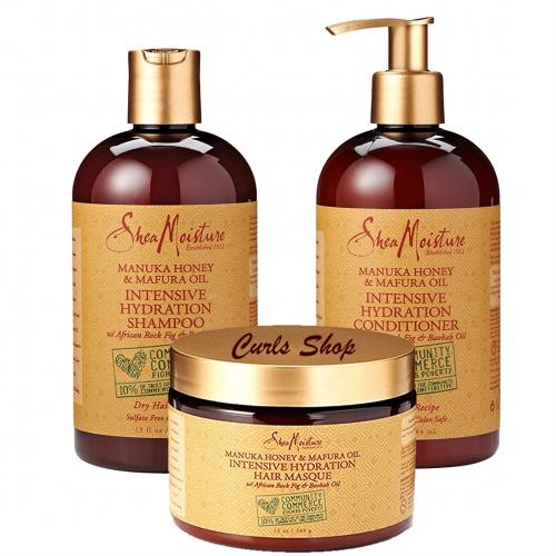 Shea Moisture - Manuka Honey & Mafura Oil Intensive Hydration Combination Set