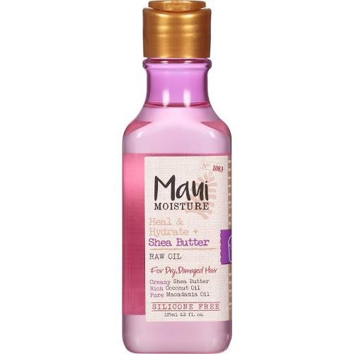 Maui Moisture - Heal & Hydrate + Shea Butter Raw Oil (4.8oz)
