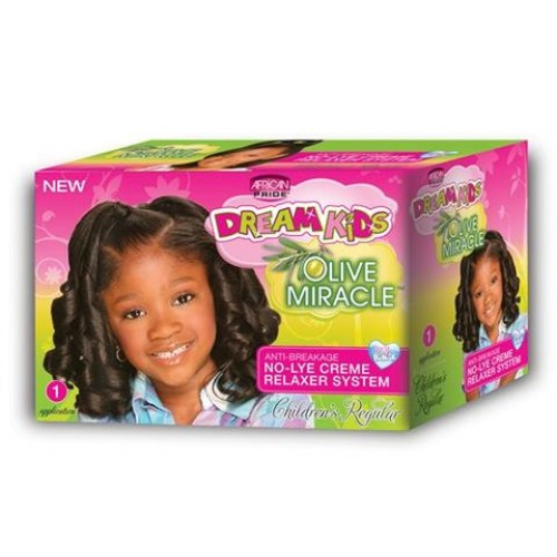 African Pride - Dream Kids Olive Miracle Relaxer Kit Regular