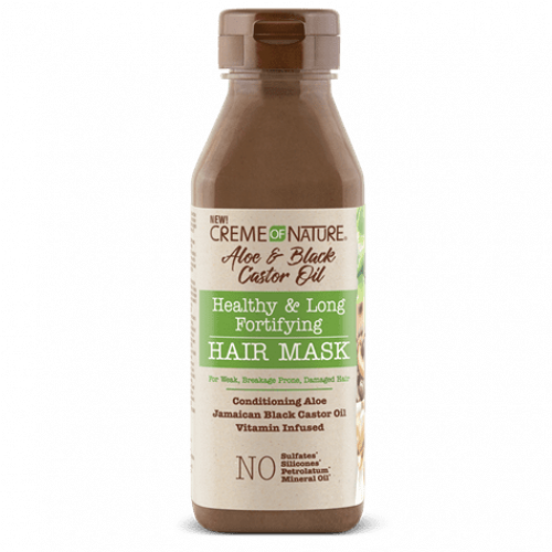 Creme of Nature - Aloe & Black Castor Oil Healthy & Long Fortifying Hair Mask (12oz)